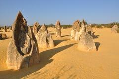 石峰石灰石形成 免版税图库摄影