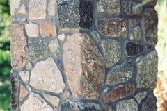 石工柱子 库存图片