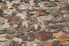 石工老石头 木背景详细资料老纹理的视窗 免版税图库摄影