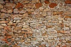 石工老西班牙石墙 免版税库存照片