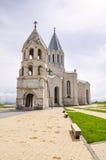 石教会在舒沙 免版税库存图片