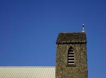 石教会的上面在盛大白鹅,毛里求斯 库存图片