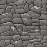 石无缝的样式 图库摄影