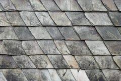 石板屋顶瓦方形的石纹理 免版税库存照片