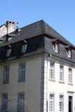 石板屋顶 免版税库存图片