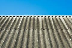 石板屋顶 库存照片