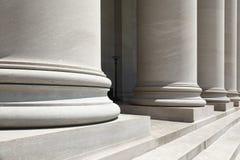 石柱子 免版税库存照片