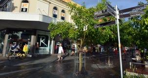 石标市中心在昆士兰澳大利亚 免版税库存图片