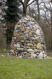 石标福克兰群岛纪念石战争 免版税库存图片