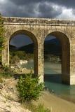 石桥梁在希腊 库存图片