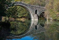 石桥梁 免版税库存图片