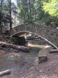 石桥梁 库存照片