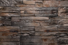 石棕色墙壁纹理背景自然颜色 免版税图库摄影