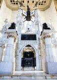 石棺克里斯托弗・哥伦布在圣多明哥 库存照片