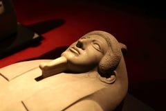 石棺的片段从Sidon的 免版税库存图片