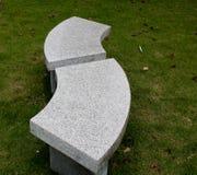 石椅子 免版税库存照片