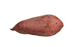 石榴石查出的红色白薯蓣 免版税库存图片