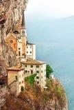石步台阶玛丹娜della光环 免版税库存照片