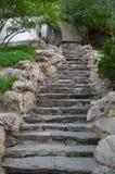 石步在北京,中国 免版税库存图片