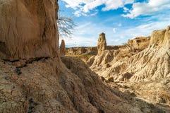 石沙漠柱子 免版税库存图片
