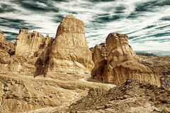 石沙漠,峡谷HDR 库存照片