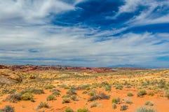石沙漠 库存图片