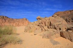 石沙漠 库存照片
