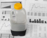 石油危机 免版税库存照片