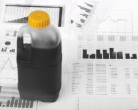 石油危机 免版税图库摄影