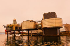 石油工业博物馆在斯塔万格-挪威 库存图片
