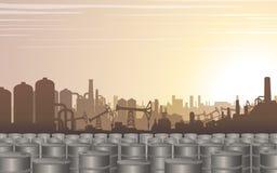 石油工业背景 10个背景设计eps技术向量 向量例证