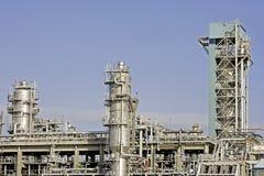 石油工厂 免版税库存照片