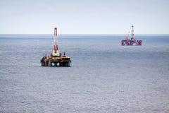 石油平台二 图库摄影
