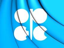 石油输出国组织旗子 免版税库存照片