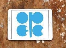 石油输出国组织组织商标 图库摄影