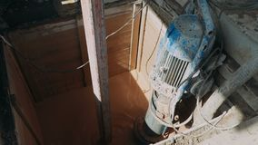 石油钻井船具 影视素材