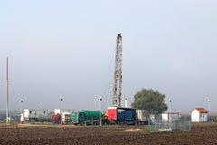 石油钻井船具 免版税库存照片