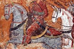 石洞壁画 库存照片