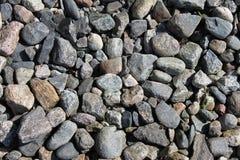 石海滩 免版税库存图片