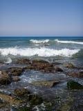 石海滩 库存图片