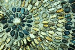 石渣圈子样式纹理 库存照片