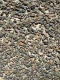 石渣墙壁 免版税库存图片