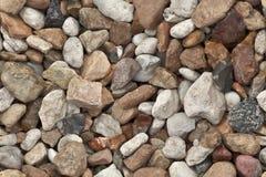 石渣无缝的背景  免版税库存照片