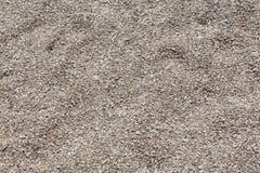 石渣沙子背景关闭 库存图片
