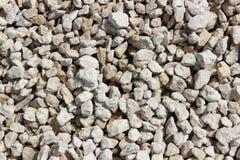 石渣石头 免版税库存图片