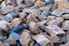 石渣石头的装饰样式 图库摄影