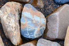 石渣石头的装饰样式 免版税库存图片