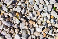 石渣背景 库存图片