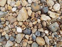 石渣背景  免版税库存图片