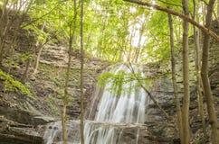 石瀑布 图库摄影